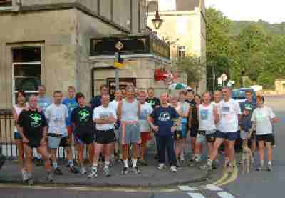 The Start from Pulteney Arms